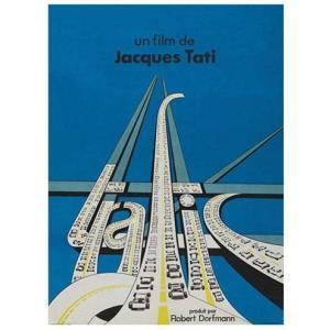 『Trafic トラフィック (1)』 ジャック・タチ(Jacques Tati )ポスター サイズ69X102cm|t-home