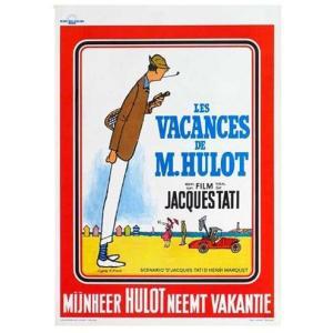 『LES VACANCES DE MONSIEUR HULOT ぼくの伯父さんの休暇(3) 』 ジャック・タチ(Jacques Tati )ポスター サイズ69X102cm|t-home
