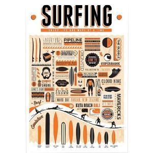 『サーフィン Surfing』  のポスター サイズ91.5×61cm|t-home