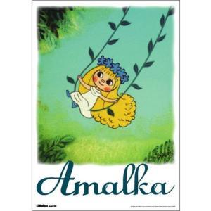 ミニポスター アマールカシリーズ アマールカブランコ サイズ18.2X25.7cm t-home