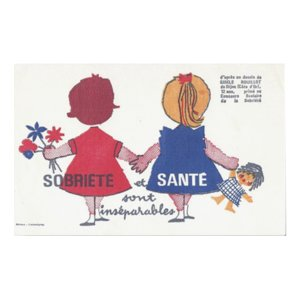 Buvard Wall stickers OBRIETE et SANTE ウォールステッカー ビュバーシリーズ|t-home