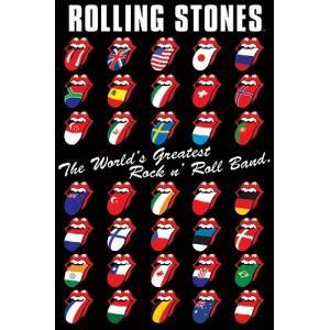 『THE ROLLING STONES INTERNATIONAL TONGUE ザ・ローリング・ストーンズ  インターナショナル タン』ポスター サイズ91.5×61cm|t-home