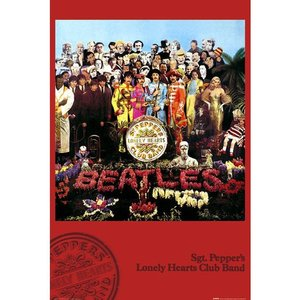 『THE BEATLES SGT. PEPPER'S LONELY HEARTS CLUB BAND ビートルズ サージェント・ペパーズ・ロンリー・ハーツ・クラブ・バンド  』ポスター サイズ91.5×61|t-home
