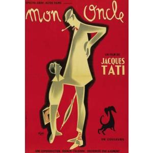 『MON ONCLE ぼくの伯父さん(4) 』 ジャック・タチ(Jacques Tati)ポスター サイズ69X102cm|t-home