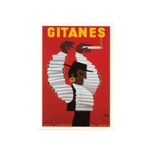 ポストカード エルベ・モルバン GITANES|t-home