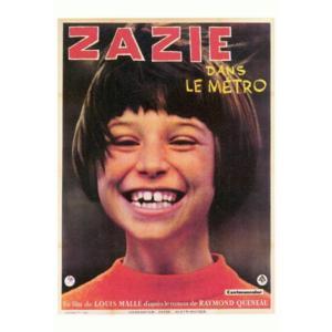 『Zazie dans le metro  地下鉄のザジ』  の映画ポスター サイズ69X102cm|t-home