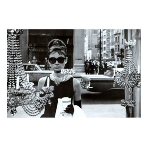 『BREAKFAST AT TIFFANY'S ティファニーで朝食を (4)』 オードリー・ヘプバーン(Audrey Hepburn)ポスター サイズ91×61cm t-home