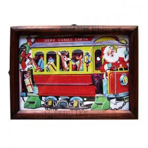 ピクチャーフレーム クリスマストレイン|t-home