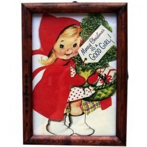 ピクチャーフレーム クリスマスガール|t-home