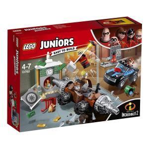 【新品】 LEGO レゴ ジュニア 10760 アンダーマイナーの銀行強盗 インクレディブル・ファミ...