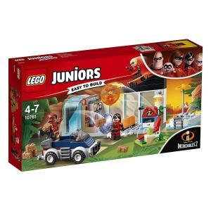 【新品】 LEGO レゴ ジュニア 10761 お家からの大脱出 インクレディブル・ファミリー