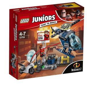 【新品】 LEGO レゴ ジュニア 10759 ミセス・インクレディブルの屋根の上の追跡劇 インクレ...