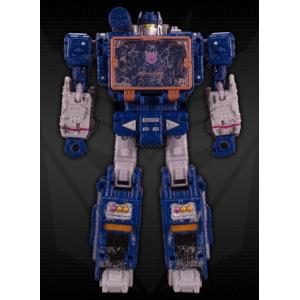 ロボットモードからビークル(ブレインシップ)へ変形。 胸部にサウンドウェーブスパイパトロール(レーザ...