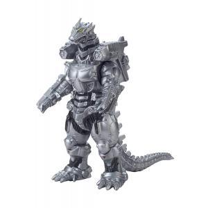 メカゴジラ(重武装型)のソフビ人形が、「ムービーモンスターシリーズ」に登場! 全高:約17cm