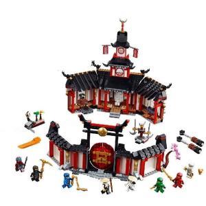 【訳アリ/新品】 LEGO レゴ Ninjago ニンジャゴー 70670 ニンジャ道場|t-jnky