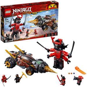 【新品】 LEGO レゴ Ninjago ニンジャゴー 70669 コールのアースドリラー