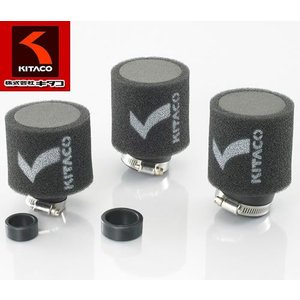 KITACO(キタコ)ノーマルキャブレター対応 汎用エアフィルター スーパーパワークリーナー φ35/Φ25 【515-6000350】|t-joy