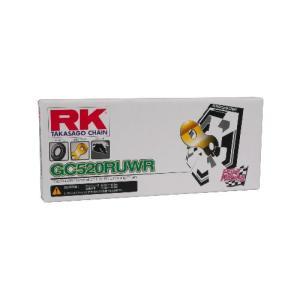 【ミドルクラスレース用 レース専用チェーン】RK ドライブチェーン GC520RUWR 100L ゴールド t-joy