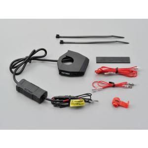 DAYTONA (デイトナ) バイク専用電源 スレンダーUSB1ポート(USB 5V2.4A)   98437|t-joy