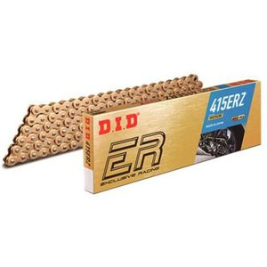 DIDチェーン 415ERZ 100L ゴールド ZB(カシメタイプ) 453615|t-joy
