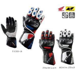Honda×RSタイチ GP-X レーシンググローブ 0SYTP-Y6A|t-joy