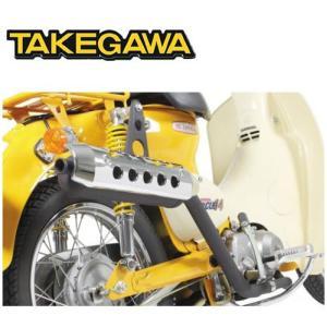 SP TAKEGAWA(タケガワ) スーパーカブ50・リトルカブ用 スポーツマフラー(アップタイプ)(JMCA認定) 04-02-0164|t-joy