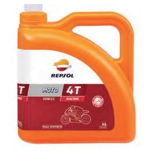 REPSOL(レプソル) MOTO RACING 4T 10W−50  4L(007076)|t-joy