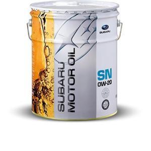 SUBARU(スバル) エンジンオイル SN 0W-20 20Lペール缶 出光興産 K0225Y0274 【白缶】|t-joy