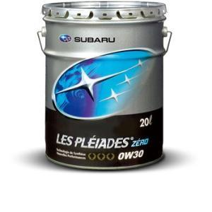 スバル エンジンオイル レ・プレイアードZERO 0W-30 20Lペール缶 トタル・ルプリカンツ・ジャパン K0226Y0020|t-joy