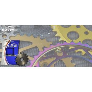 XAM(ザム スプロケット)  FRONT SPROCKET TW200 C3206 15T|t-joy