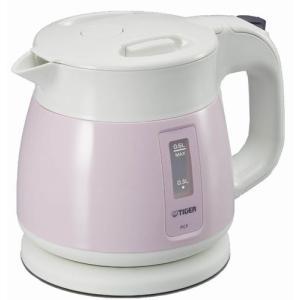 タイガー 電気ケトル0.6L ピンク PCF-A060 の商品画像