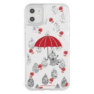 iPhone11 iphone XR ケース ムーミン ラメ グリッターケース / リトルミイ アイフォン11 アイフォンxr カバー キラキラ グリッター 父の日|t-mall-tfn
