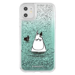 iPhone11 iphone XR ケース ムーミン ラメ グリッターケース / ムーミンパパ アイフォン11 アイフォンxr カバー キラキラ グリッター 父の日|t-mall-tfn