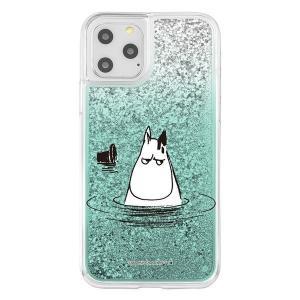iPhone11Pro ケース ムーミン ラメ グリッターケース / ムーミンパパ アイフォン11pro カバー キラキラ グリッター 父の日|t-mall-tfn