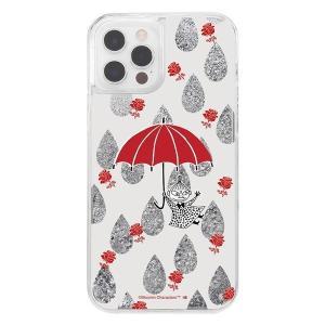iPhone12 iphone12Pro ケース ムーミン ラメ グリッターケース / リトルミイ アイフォン12 カバー キラキラ グリッター 父の日|t-mall-tfn