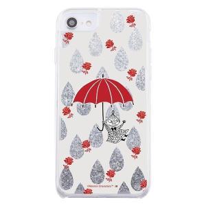 iPhone SE2 ケース ムーミン ラメ グリッターケース / リトルミイ iphone8 iphone7 6s 6 カバー キラキラ グリッター アイフォンse2 第2世代 父の日|t-mall-tfn
