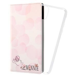 iPhone 12 Pro Max 『ディズニーキャラクター』/手帳型アートケース FLEX CASE/『ミニーマウス_016』 iphone12promax アイフォン 父の日|t-mall-tfn