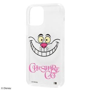 iPhone 12 / 12 Pro『ディズニーキャラクター』/ハイブリッドケース Clear Pop/『チェシャ猫』 iphone12 iphone12pro 不思議の国のアリス 父の日|t-mall-tfn