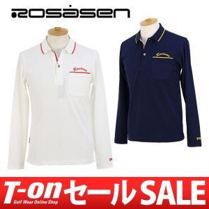 2017 秋冬 ロサーセン Rosasen ポロシャツ ゴルフウェア メンズ|t-on