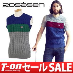 2017 秋冬 ロサーセン Rosasen ベスト ゴルフウェア メンズ|t-on