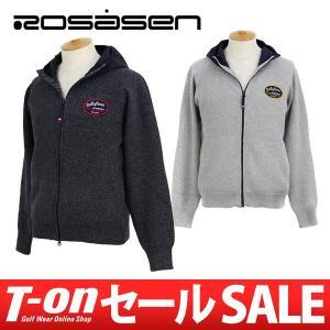 2017 秋冬 ロサーセン Rosasen ニットブルゾン ゴルフウェア メンズ|t-on