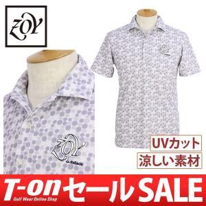 【30%OFFセール】2017 秋冬 ゾーイ ZOY 半袖ポロシャツゴルフウェア メンズ t-on