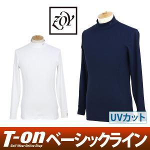 ゾーイ ZOY ハイネックシャツ ゴルフウェア メンズ t-on
