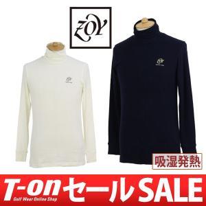 【20%OFFセール】ハイネックシャツ メンズ ゾーイ ZOY 2017 秋冬 ゴルフウェア t-on
