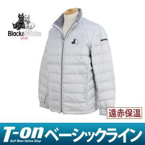 ブルゾン メンズ ブラック&ホワイト Black&White 2017 秋冬 ゴルフウェア|t-on