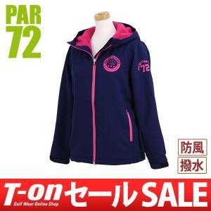 【30%OFFセール】PAR72 パー72 日本正規品 ブルゾン 裏ボア素材 フード付 ストレッチ 撥水 防風 保温 ゴルフウェア t-on