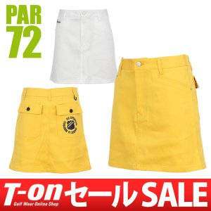 【30%OFFセール】PAR72 パー72 日本正規品 スカート ストレッチ シンプルデザイン レディース ゴルフウェア t-on