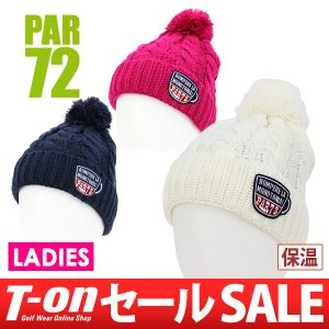 【30%OFFセール】PAR72 パー72 日本正規品 ニットキャップ レディース  ゴルフ t-on