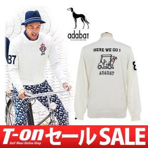 【30%OFFセール】セーター メンズ アダバット adabat 2017 秋冬 ゴルフウェア|t-on
