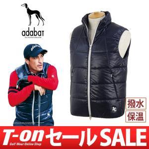 【30%OFFセール】べスト メンズ アダバット adabat 2017 秋冬 ゴルフウェア|t-on